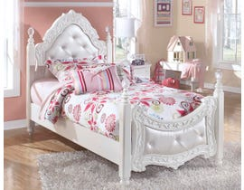 Signature Design by Ashley Twin Poster Bed in White B188YB55