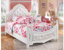 Signature Design by Ashley Full Poster Bed in White B188B53