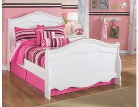 Signature Design by Ashley Full Sleigh Bed in White B188B2