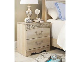 Signature Design by Ashley Catalina Nightstand in Antique Chestnut B196