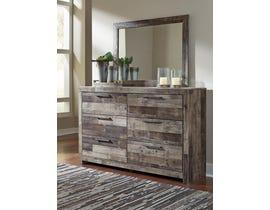 Signature Design by Ashley Derekson Collection Dresser and Mirror in Multi-Gray B200-31-36