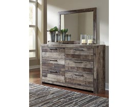 Signature Design by Ashley Derekson Collection Dresser and Mirror in Multi-Gray B200-31-36