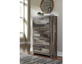 Signature Design by Ashley Derekson Collection Five Drawer Chest in Multi-Gray in B200-46