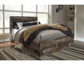 Signature Design by Ashley Derekson Collection Rustic Queen Storage Bed B200-57-54S-95