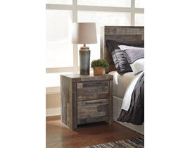 Signature Design by Ashley Derekson Collection Two Drawer Night Stand in Multi-Gray B200-92