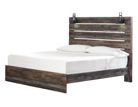 Signature Design by Ashley Drystan Collection Engineered Wood King Panel Bed in Multi B211-58-56-97
