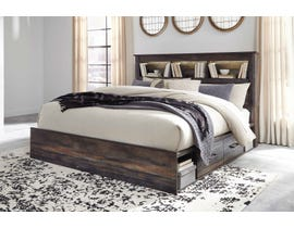 Signature Design by Ashley Queen Bookcase Bed with Storage in Multi B211B18