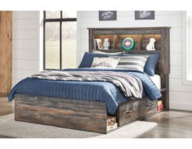 Signature Design by Ashley Full Bookcase Storage Bed in Multi B211B21