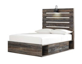 Signature Design by Ashley King Panel Bed with Storage in Multi B211B55