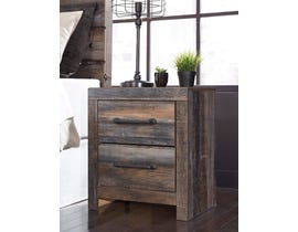 Signature Design by Ashley Drystan Collection Engineered Wood Nightstand in Multi B211-92