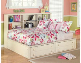 Signature Design by Ashley Full Bookcase Bed in Cream Cottage B213B32