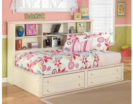 Signature Design by Ashley Twin Bookcase Bed in Cream Cottage B213B31