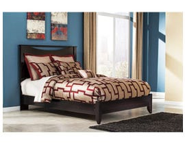 Signature Design by Ashley Panel Bed in Merlot B217