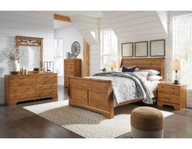 Signature Design by Ashley Bittersweet Sleigh Bedroom Set in Light Brown B219