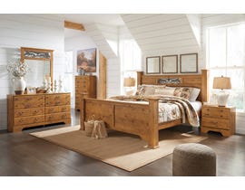 Signature Design by Ashley Bittersweet Poster Bedroom Set in Light Brown B219