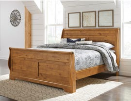 Signature Design by Ashley Bittersweet Sleigh Bed in Light Brown B219