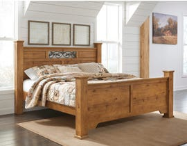Signature Design by Ashley Bittersweet Poster Bed in Light Brown B219