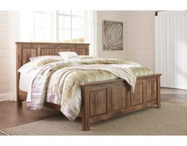 Signature Design by Ashley Blaneville Panel Bed in Oak Brown B224