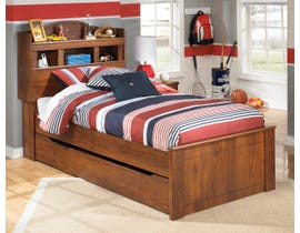 Signature Design by Ashley Twin Bookcase Bed in medium brown B228B13