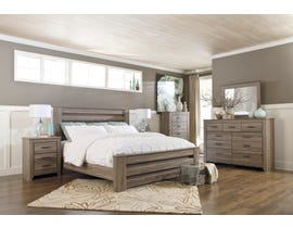 Signature Design by Ashley Bedroom Zelen 6-piece King Bedroom Set in grey B248-31