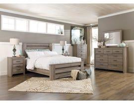 Signature Design by Ashley Zelen Bedroom Set in Warm Grey B248