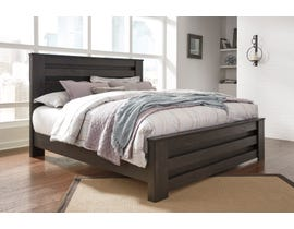 Signature Design by Ashley Brinxton Panel Bed in Charcoal Grey B249