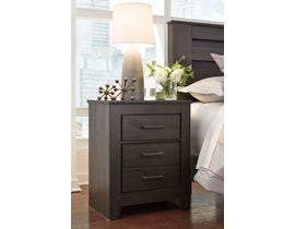 Signature Design by Ashley Nightstand in Charcoal B249-92