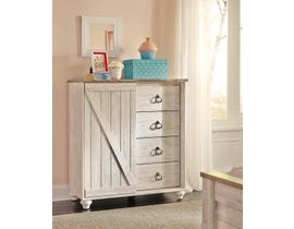 Signature Design by Ashley Bedroom Willowton chest B267