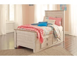 Signature Design by Ashley Bedroom Willowton 3-piece twin storage bed B267