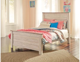 Signature Design by Ashley Bedroom Willowton 3-piece full size bed B267