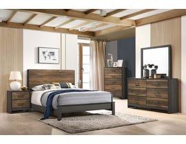 Timarron Series Bedroom Set in Walnut B2818