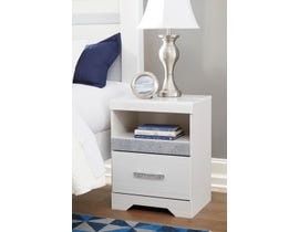 Signature Design by Ashley Jallory Nightstand in White Walnut B302