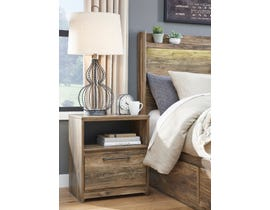 Signature Design by Ashley Rusthaven Nightstand in Rustic Brown Oak B322