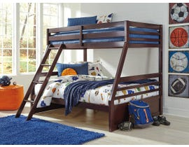 Signature Design by Ashley Twin over Full Bunk Bed in Dark Brown B328YB3