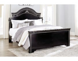 Signature Design by Ashley Banalski 3pc Panel Bed in Dark Brown B342