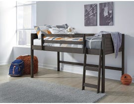 Signature Design by Ashley Caitbrook Series Twin Loft Bed Grey Finish B388-62