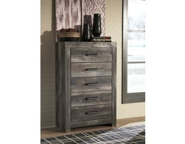 Signature Design by Ashley 5 Drawer Chest in Gray B44046
