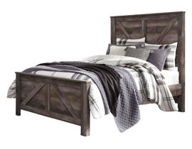 Signature Design by Ashley  Queen Panel Bed in Gray B440B9