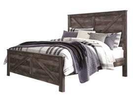 Signature Design by Ashley King Panel Bed in Gray B440B11