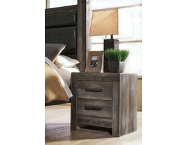 Signature Design by Ashley 2 Drawer Nightstand in Gray B44092