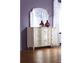 K Elite Avalon Series Dresser in Pearl White B481-DR