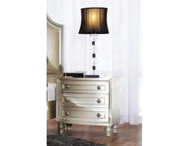 K Elite Avalon Series Nightstand in Pearl White B481-NS