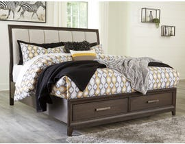 Signature Design by Ashley Brueban 3pc Storage Bed in Rich Chestnut Brown B497
