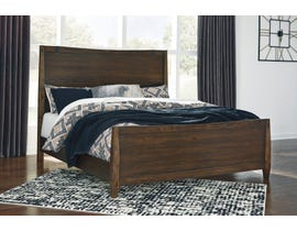 Signature Design by Ashley Kisper 3pc Panel Bed in Brushed Dry Brown B513