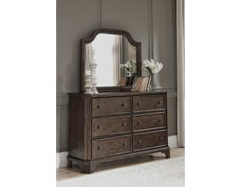 Signature Design by Ashley Adinton Dresser and Mirror in Brown B517