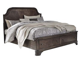 Ashley Adinton Series Bed in Brown B517