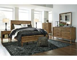Signature Design by Ashley Broshtan Panel Bedroom Set in Light Brown B518