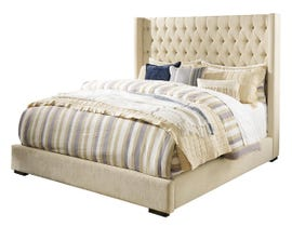 Signature Design by Ashley California King Upholstered Bed in Multi B599B6