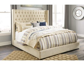 Signature Design by Ashley Norrister Upholstered Bed in Beige B599