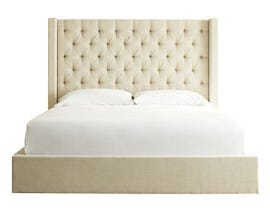 Signature Design by Ashley Norrister Collection Upholstered Bed in Beige B599
